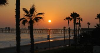 Pacific Beach Sunset